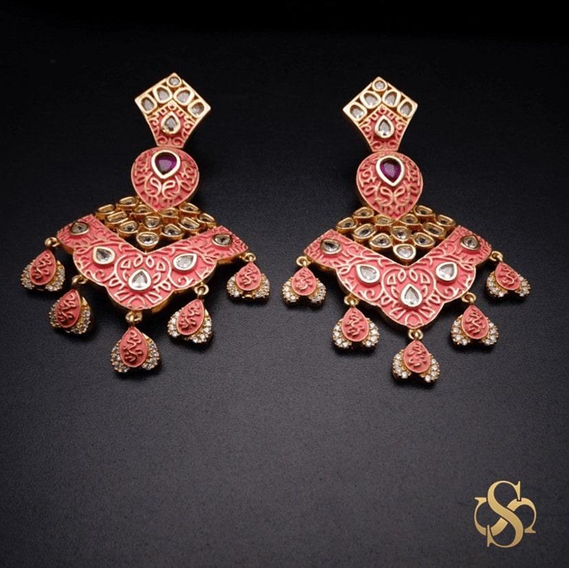 Buy-American-Diamond-Earrings-Online-India-Online-India