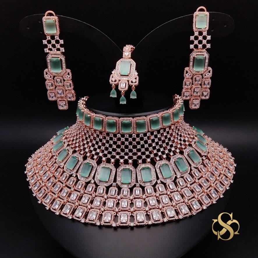 Buy-American-Diamond-Necklace-Set-Online-India