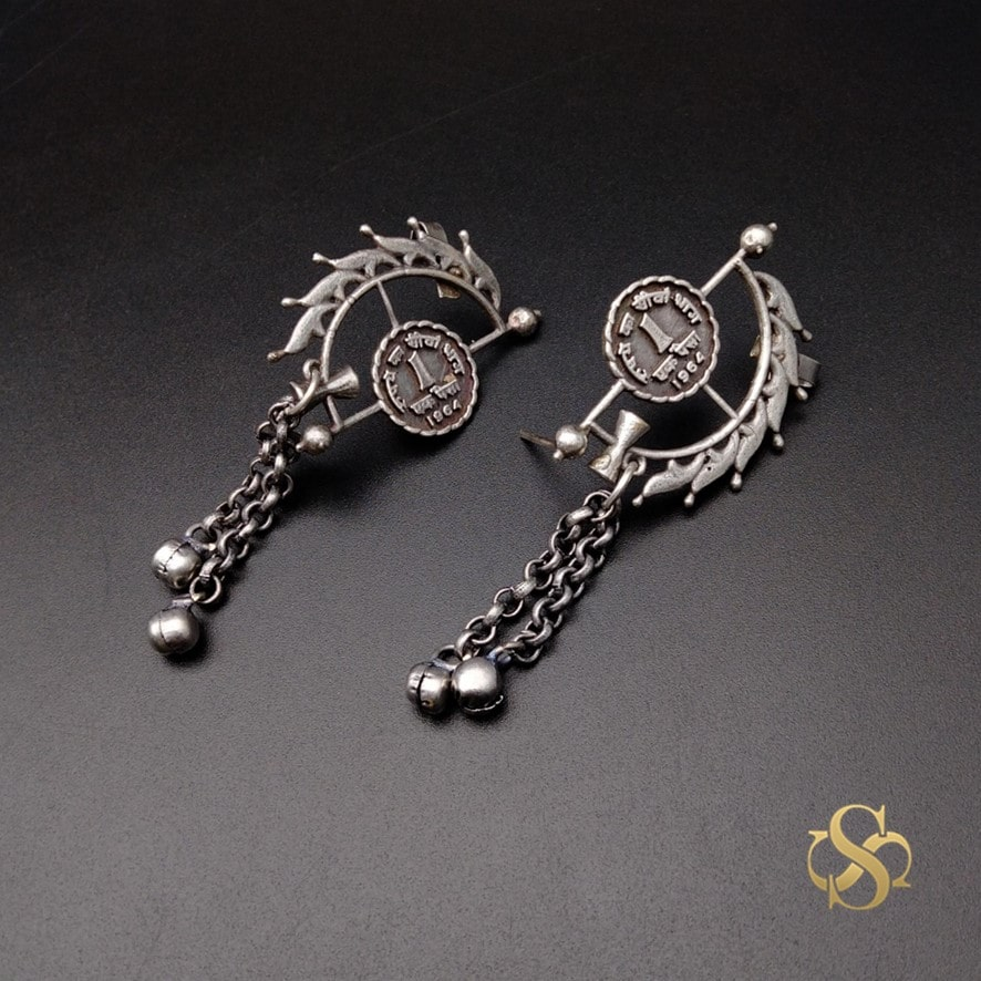 Buy-High-Quality-Oxidized-Earrings-Online-Online-India
