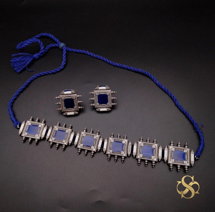 oxidized-necklace-choker-online
