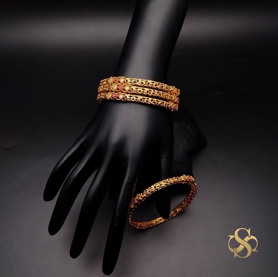 Buy-Polki-Bangles-Online-India