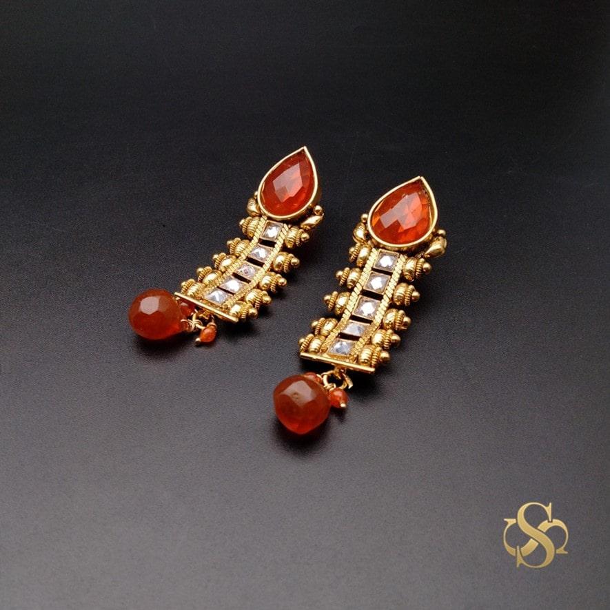 buy-designer-polki-earrings-online