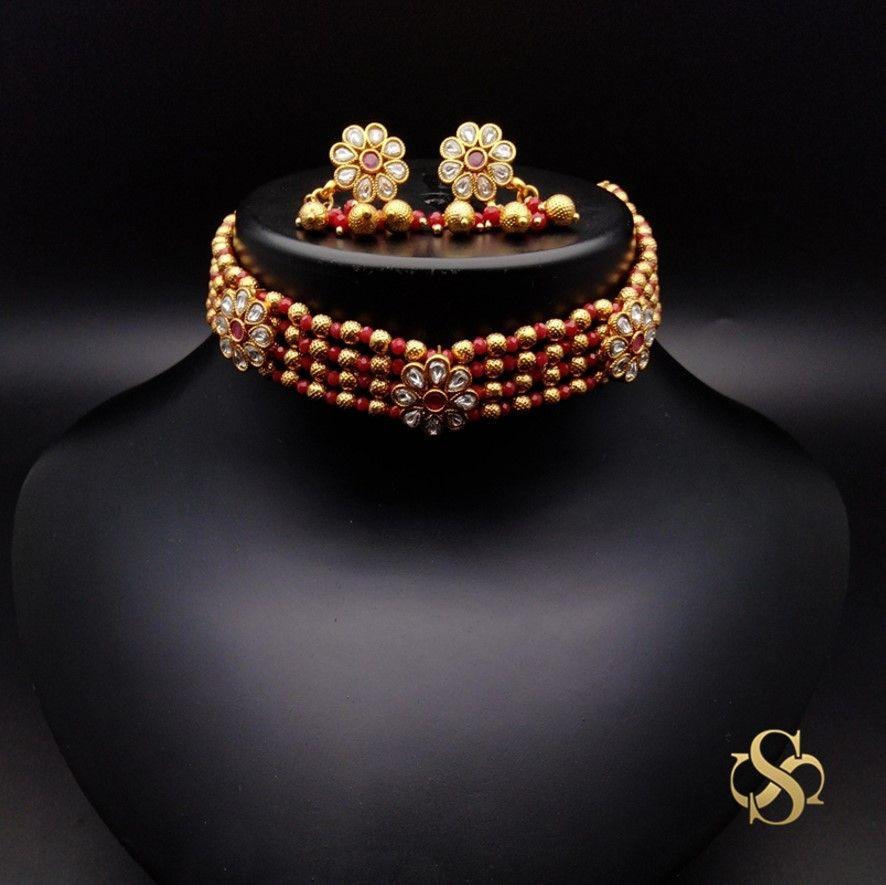 polki-choker-necklace-set-online